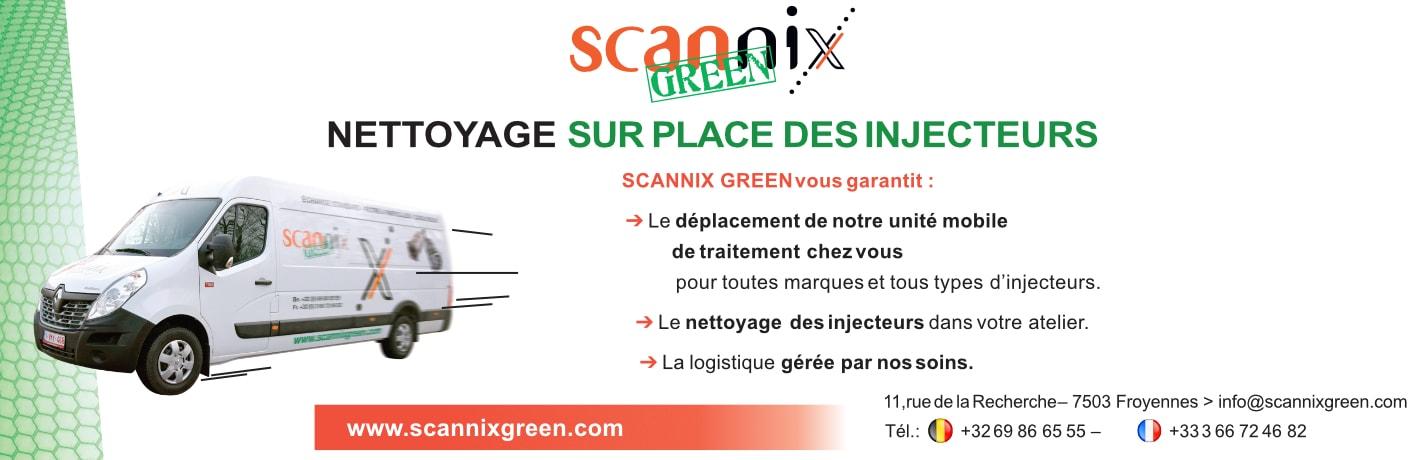 Promo Scannix Green